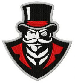 Austin Peay Governors logo machine embroidery design