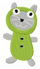 Sock doll cat