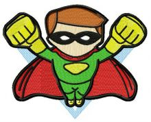 Superboy attacks 3