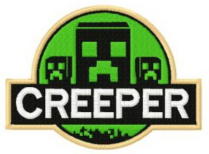 Creeper badge