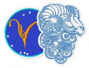 Zodiac sign Aries 3