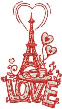 I love you Paris