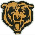 Chicago Bears logo 3 embroidery design