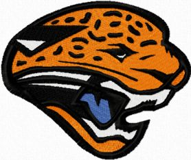 Jaguar sport logo machine embroidery design