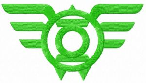 Green Lantern Wings logo