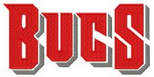 Tampa Bay Buccaneers wordmark logo