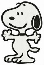 Snoopy let's hug
