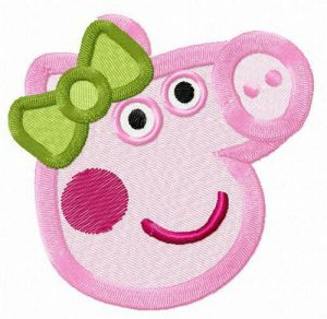 Peppa's green bow