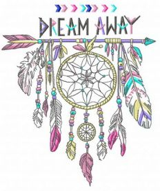 Dreamcatcher 2 machine embroidery design