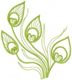 Green grass free embroidery design
