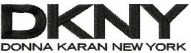 DKNY logo machine embroidery design