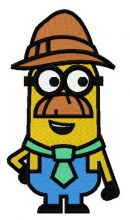 Minion in Tyrolean hat