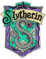 Slytherin emblem embroidery design