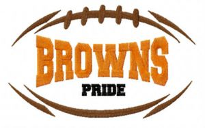 Cleveland Browns fan logo