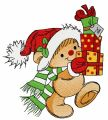 Christmas presents for you 4 embroidery design