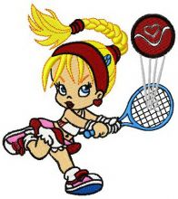 Betty tennis player