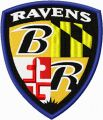 Baltimore Ravens logo 1 embroidery design