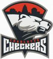 Charlotte Checkers Primary Logo embroidery design