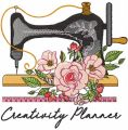Creativity Planner embroidery design