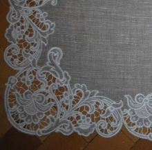 Cutwork napkin project