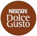 Nescafe Dolce Gusto logo embroidery design