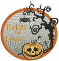 Halloween bookmark 4 embroidery design