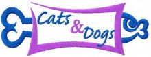Cats and Dogs sign