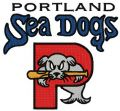 Portland sea dogs logo embroidery design