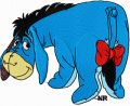 Eeyore 1 embroidery design