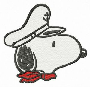 Snoopy the captain muzzle