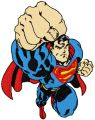 Superman Attacks embroidery design