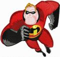 Mr. Incredible 4 embroidery design
