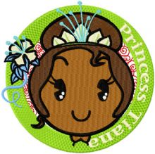 Princess Tiana Badge