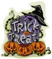 Trick and Treat embroidery design
