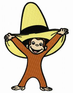 Curious George with yellow hat