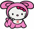 Hello Kitty Baby 2 embroidery design
