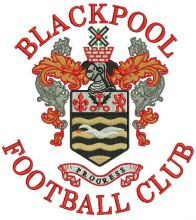 Blackpool football club logo