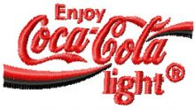 Coca Cola light Logo