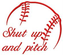 Shut up and pitch
