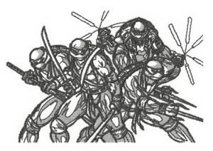 Teenage Mutant Ninja Turtles sketch