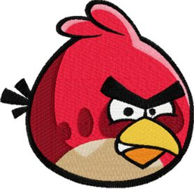 Angry Birds machine embroidery design