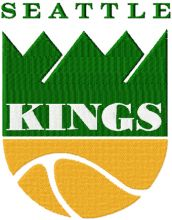 Seattle Kings logo