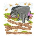 Eeyore 2 embroidery design