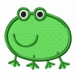 Frog from Peppa Pig