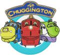 Chuggington Logo embroidery design