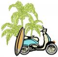 Aloha 4 embroidery design