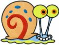 Gary the Snail embroidery design