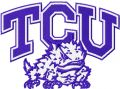 TCU Horned Frogs Logo embroidery design