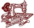 Red velvet forever 2 embroidery design