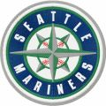 Seattle Mariners logo embroidery design
